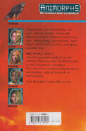 Animorphs 8 the alien Der Alien german back cover