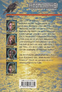 Animorphs 16 the warning Die Warnung german back cover