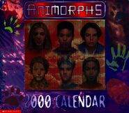 2000 calendar cover with screen - mostly human