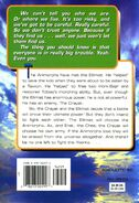 Animorphs 26 the attack back cover