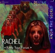 Animorphs alliance poster rachel close up