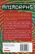 Animorphs 25 the extreme UK back cover