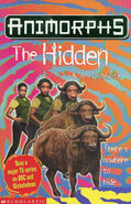 Animorphs 39 The Hidden UK cover