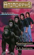 Animorphs 5 the predator Oppdagelsen Norwegian cover
