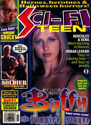 Starlog presents sci fi teen issue 3 november 1998 cover