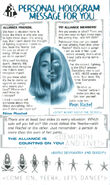 Animorphs Alliance Flash issue 13 Personal Hologram Message Rachel 32