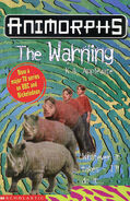 Animorphs 16 the warning UK cover