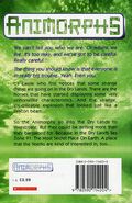 Animorphs 14 the unknown UK back cover