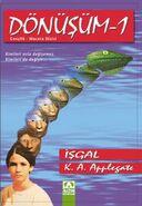 Animorphs 1 the invasion Donusum Isgal turkish cover