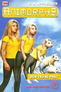 Animorphs 22 the solution Đòn trừng phạt vietnamese cover book 36