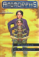 Animorphs 6 the capture Sieppaus Finnish cover