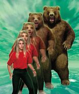 Animorphs 07 the stranger morph stock image rachel bear