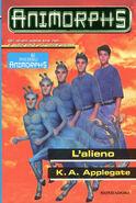Animorphs 8 the alien L alieno italian cover