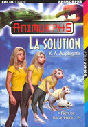 Animorphs 22 the solution french cover