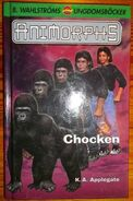 Animorphs swedish 5 chocken predator cover