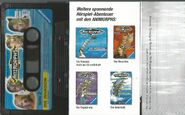 Animorphs 1 the die invasion cassette tape german back