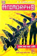 Animorphs 19 the departure Con dao hai lưỡi vietnamese cover book 37