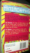 Animorphs 49 50 diversion ultimate UK back cover