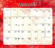 9 2000 calendar August month