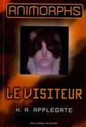 Animorphs 2 french cover le visiteur