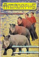 Animorphs book 16 indonesian cover