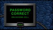Hawk rescue password correct unlocking cell