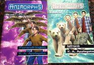 Animorphs norwegian book 13 and 25