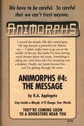 Book 4 the message ad from inside book 3