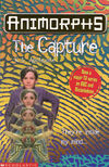 Animorphs 6 the capture UK cover later