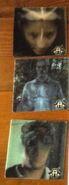 Australian VHS tape lenticular stickers Cassie Marco Ax