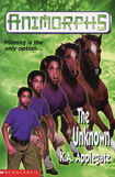 Animorphs 14 the unknown UK cover