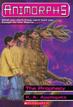 Animorphs 34 the prophecy ebook cover