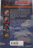 Animorphs 9 german the secret das geheimnis back cover