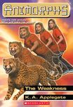 Animorphs 37 the weakness ebook cover