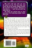 Animorphs book 50 the ultimate back cover