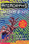 Animorphs 17 The Underground UK cover