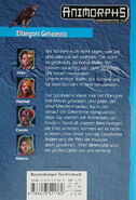 Animorphs mm3 elfangors secret Elfangors Geheimnis german back cover