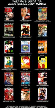 List of good delinquent mangas