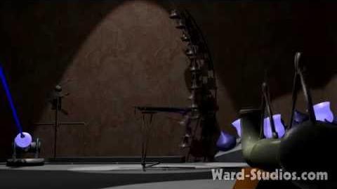 Antimatter Raystorm Animusic style Animated Music Video New Age by Jason Ward