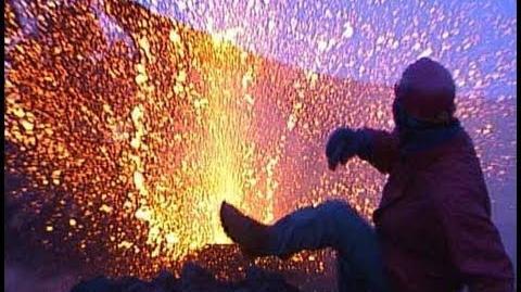Geoff Mackley has close call on Mt Etna-0
