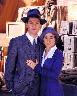 2000 Anne und Gilbert zusammen