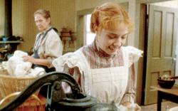 Anne und Marilla in der Küche