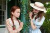 2016 Anne und Diana mit Hut