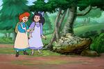 Abenteuer Anne und Diana im Wald 2