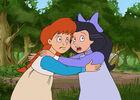 Abenteuer Anne und Diana im Wald