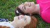 GGF Anne und Diana im Gras