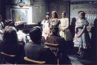 Anne mit Freundinnen 1972