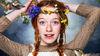 2017 Anne mit Blumen im Haar
