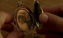Hochzeitsfoto von Walter und Bertha Shirley