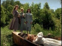 Anne als Lilienmaid
